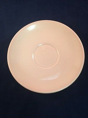"""Old Vintage Taylor TS&T Lu-Ray Pastels 6"""" Pink Bread & Butter Plate USA"""