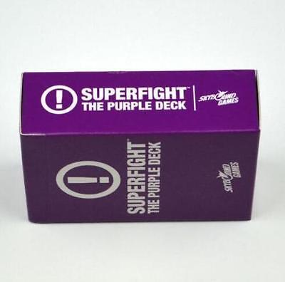 SUPERFIGHT: Purple Expansion Game-Factory Sealed Deck Card