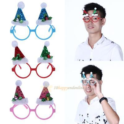 Christmas Tree Makeup Cosmetic Party Glasses Adult Boys Girls Funny Glasses