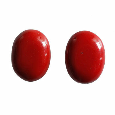 Coral Cabochon 20x15MM Oval Shape, Calibrated Cabochons AG-215