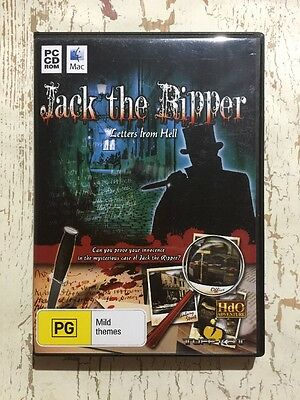 JACK THE RIPPER Letters From Hell (PC CD ROM Mac PC 2010) Hidden Objects EVGC