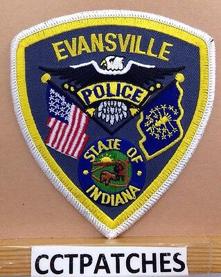 Evansville, Indiana Police Shoulder Patch In