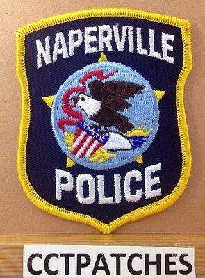 Naperville, Illinois Police Shoulder Patch Il