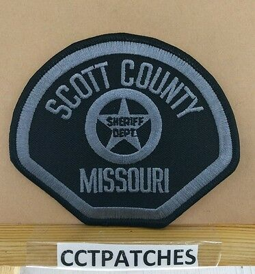 Scott County, Missouri Sheriff Subdued (Police) Shoulder Patch Mo