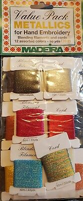 Madeira embroidery thread 24 pack