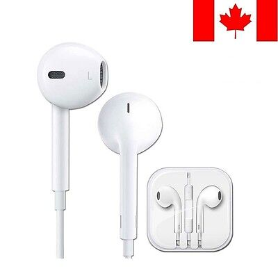 Original EarBuds for iPhone 4, 5 6 Headphones With Mic and volume
