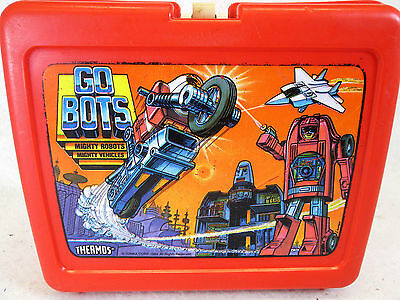 Vintage 1984 Tonka GoBots plastic lunch box by Thermos  (no Thermos bottle)