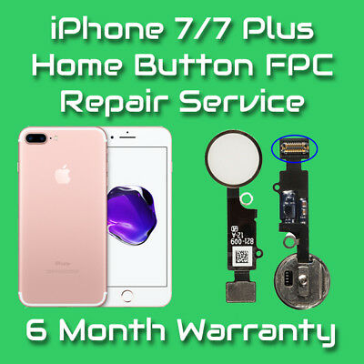 Apple iPhone 7 / 7 Plus Home Button Flex Cable FPC Repair Replacement Service