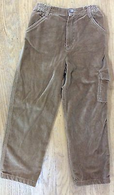 CHARABIA PARIS Pants CARAMEL VELVET Cargo Pocket FRANCE Euro Dressy Boys 5 6