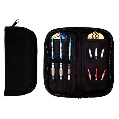 Durable Super Darts and Case Wallet Black Accessory Holds 2 Sets