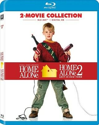 Home Alone 2-Movie Collection (2017, Blu-ray NEUF)
