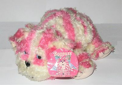 "Official Bagpuss The Cat Plush 10"" Soft Toy With Tags"