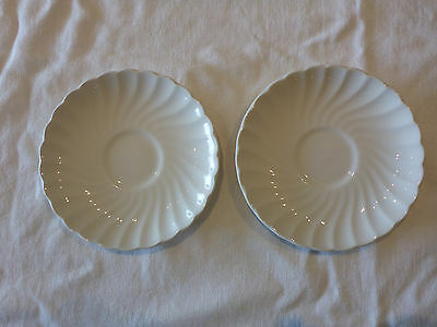 Johnson Bros England  Saucer  X 2 Regency