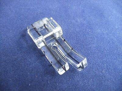 "1/4"" Quarter Inch Foot Clear Quilting Patchwork For Brother Singer - Snap-On"