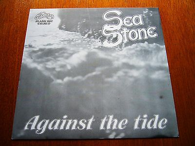 "SEA STONE 7""EP Against The Tide RARE UK PROG ROCK 4 NO-LP TRACKS PLANKTON ORIG"