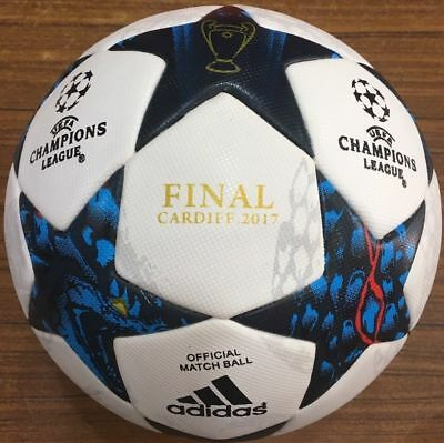 New Adidas UEFA Champions League Cardiff Finale A+ Match Ball 2017 Soccer