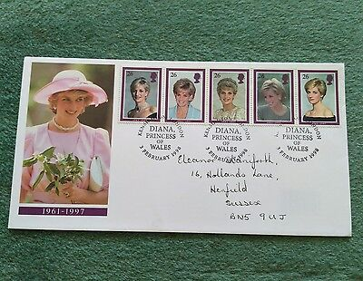 Princess Diana 1961-1997 Commemorative First Day Cover