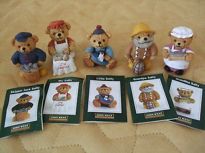 Craggley Boggs Collectable Bears - Collection Of 26 Bears