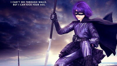 "009 Chloe Moretz - Hit Girl Beauty Hot Movie Actress Star 24""x14"" Poster"
