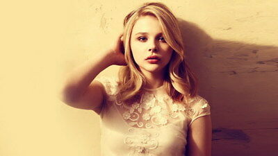 "033 Chloe Moretz - Hit Girl Beauty Hot Movie Actress Star 24""x14"" Poster"