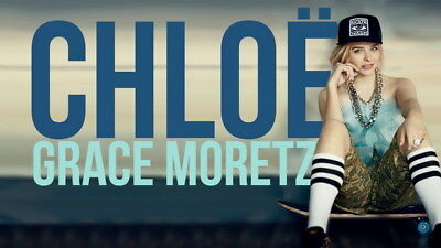 "080 Chloe Moretz - Hit Girl Beauty Hot Movie Actress Star 24""x14"" Poster"