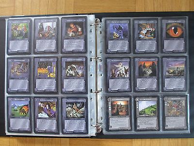THE LIDLESS EYE Complete Set all 416 cards - lotr MELE Middle Earth Lord Mittel