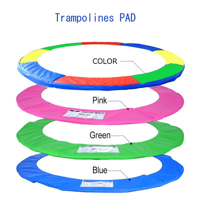 12/14/15 FT Trampoline Replacement Safety Pad Frame Spring Round Cover