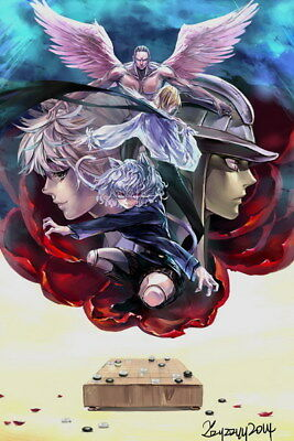 "020 Hunter X Hunter - Neferpitou Gon Killua Fight Anime 14""x21"" Poster"