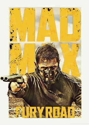 "141 Mad Max 4 Fury Road - Fight Shoot Car USA Movie 14""x19"" Poster"