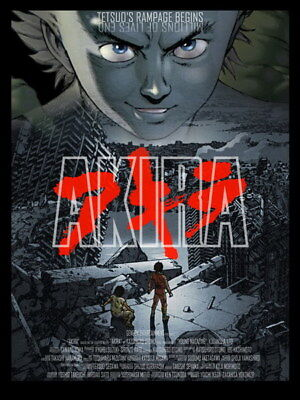 "008 Akira - Red Fighting Hot Japan Anime 14""x18"" Poster"