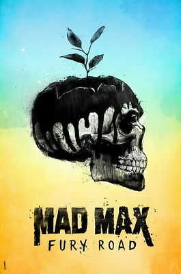 """164 Mad Max 4 Fury Road - Fight Shoot Car USA Movie 14""""x21"""" Poster"""