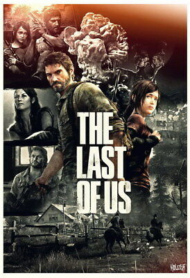 "026 The Last of Us - Zombie Survival Horror Action TV Game 14""x20"" Poster"