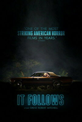 "001 It Follows -  2015 Terror Ghost USA Hot Movie  14""x20"" Poster"