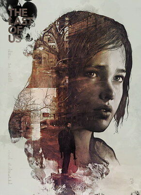 "015 The Last of Us - Zombie Survival Horror Action TV Game 14""x19"" Poster"