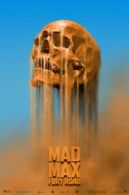 "068 Mad Max 4 Fury Road - Fight Shoot Car USA Movie 14""x21"" Poster"