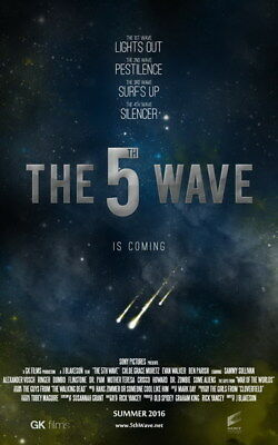 "011 The 5th Wave - Chloe Grace Moretz 2016 Science Fiction Movie 24""x38"" Poster"