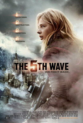"008 The 5th Wave - Chloe Grace Moretz 2016 Science Fiction Movie 24""x35"" Poster"