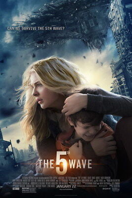 "002 The 5th Wave - Chloe Grace Moretz 2016 Science Fiction Movie 24""x36"" Poster"
