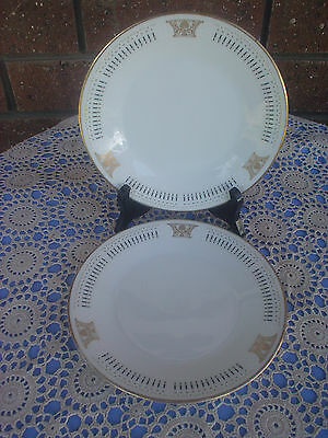 Noritake Blakely Bread & Butter Plates Set Of 2