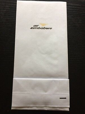 Kotztüte / Spuckbeutel / Air Sickness Bag: AIR ZIMBABWE / AFRICA