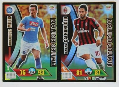 Adrenalyn XL Serie A 2017/2018 - 2 carte Limited Edition