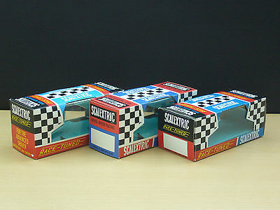 Scalextric Race Tuned Reproduction 1960's Boxes