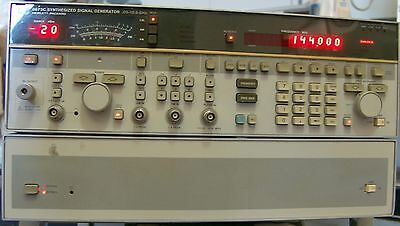 HP 8763C SYNTHESIZED SIGNAL GENERATOR 0.05 - 18.6 GHz