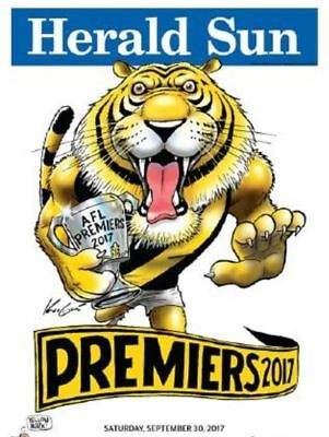 Richmond 2017 PREMIERSHIP MARK KNIGHT OFFICIAL POSTER - ITS TIGER TIME