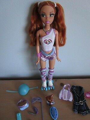 Barbie My Scene KENZIE Masquerade Madness Roller Derby Doll 2004