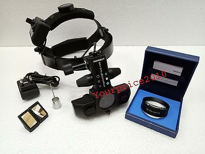 Rechargeable Indirect Ophthalmoscope With Accessories & 20 D