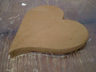"""large """"Love Heart""""  Latex/Rubber Mould to make this Beautiful Stepping Stone"""