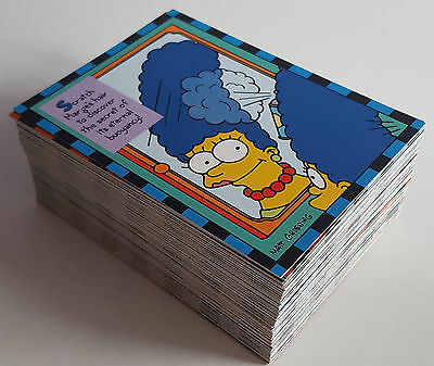 1994 The Simpsons Smell O Rama Trading Cards, SkyBox, 9 Sets Of 10 Cards.