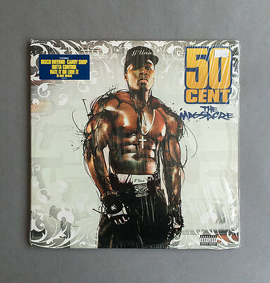 50 Cent ‎– The Massacre Vinyl LP, Double, Gatefold, NM/NM, Hip Hop