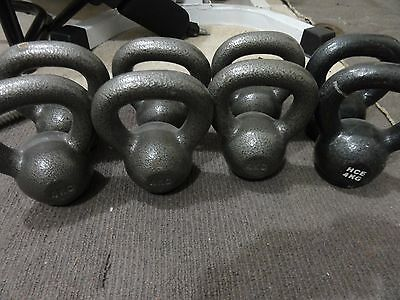 kettlebell weights 4kg like new $12 each